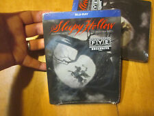 SLEEPY HOLLOW BLU RAY Steelbook Limited Edition EXCLUSIVE FYE  JOHNNY DEPP
