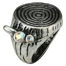 Vintage antique style chunky annual / growth rings ring