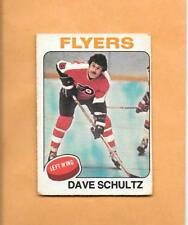 HOCKEY CARDS-75/76 OPC #147 DAVE SCHULTZ