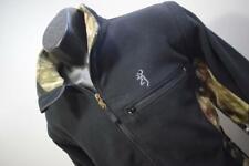 39267 Mens Browning Hunting Outdoors Full Zip Camo Fleece Vest Jacket Medium