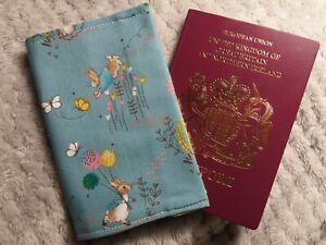 Passport holder cover. PETER RABBIT  gift holiday