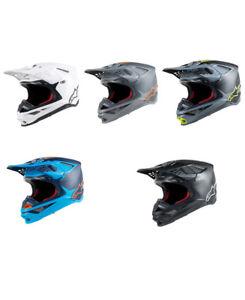 2019 Alpinestars S-M10 Supertech Helmet Offroad Motocross MX - Pick Size / Color