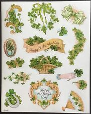 Vintage Stickers - American Greetings - St Patrick's Day - Mint Condition!!