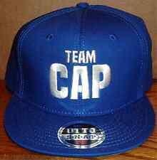 TEAM CAP BLUE ADJUSTABLE BASEBALL HAT CONBOX NEW CAPTAIN AMERICA CIVIL WAR MOVIE