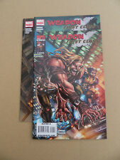 Weapon X : First Class 1 - 3 . Lot Complet . Marvel 20109 . VF