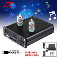 Mini 6J1 Vacuum Tube Pre-Amplifier Stereo Preamp USB DAC Audio HiFi Music  ,@