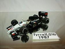 MERI TAMEO  - TYRRELL 016 - VERY RARE -  KIT (built)  F1 1:43 - NICE CONDITION