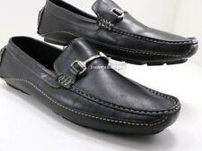 Clarks 71284 Black Davont Horsebit Stitched Driving Moccasin Loafers Men's 11 M