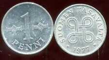 FINLANDE   1 penni 1977  ( bis )