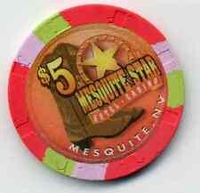 MESQUITE STAR CASINO  $5  CHIP