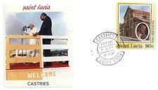 Saint Lucia 1986 Jan Pawel II papież John Paul Pope Papa Giovani Paolo (86/1)
