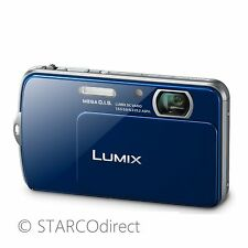 Panasonic DMCFP7BL 16.1MP Lumix Digital Camera - Blue
