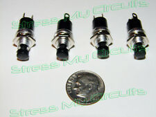 Momentary Push Button switches, N.C.,  4 pieces LOT,  USA seller, fast shipping!