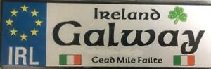 GALWAY Irish Fridge Magnet - County 5 x 1.5 inch aluminium quality