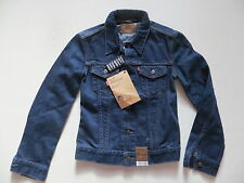 Levi's® Damen Jacke Jeansjacke, Gr. S, NEU ! Dark Indigo Denim, Red Tab Girls !