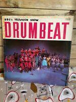 BBCs Television Show Drumbeat UK LP/Album Parlophone 1959 Adam Faith Vince Eager