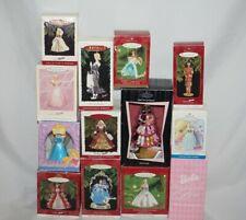 Hallmark BARBIE Keepsake Ornaments Barbie Christmas You Choose One (1) New/Used