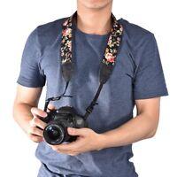 Unique Style Camera Shoulder Neck Belt Floral Strap For Canon Nikon DSLR