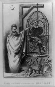 Photo:John Brown exhibiting,hangman,Civil War,J Davis,1865 3822