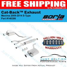 Borla S-Type Cat-Back FITS 09-14 Nissan Maxima Sedan 4Dr 3.5L #140386