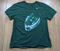 Nike Graphic Football/US Football T-Shirt Green L/XL NFL