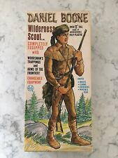 Daniel Boone Wilderness Scout MARX Toys 2060.
