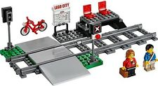LEGO Train Level Crossing & Station NEW Platform 2 Minifigures, Bike, Set 60051