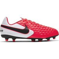 Scarpe da calcio Nike Tiempo Legend 8 Club FG / MG Jr AT5881-606 rosso rosso