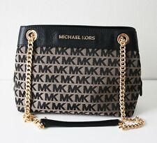 Michael Kors Bag Jet Set Item Md Chain Messenger Black 35F9GTTM2J