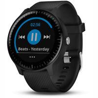 Garmin Vivoactive 3 Music GPS Smartwatch Black with Silver Hardware 010-01985-01