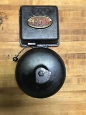 1907 Faraday Electric Door Fire Alarm Butler Bell Low Volts Antique