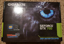 Original Gigabyte GTX750 2GB DDR5 128bit Gaming Graphics Card Video Card