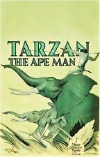 Tarzan The Ape Man Movie Poster 24Inx36In Poster