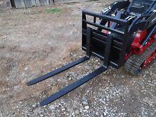 """Toro Dingo Mini Skid Steer Attachment New 42"""" Pallet Forks - Ship for $149"""