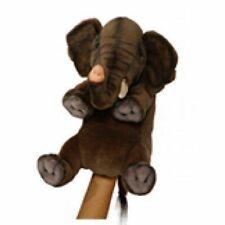 "Hansa Elephant Puppet 10"" High"