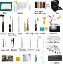 Awesome 273 pc Leather Working Kit Tools & Supplies