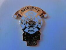 PIN'S  POMPIERS  USA  / BLACKDRAFT  /  CHICAGO  1990   /  SUPERBE