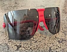 Stylish Retro Tinted Wrap Around Safety Glasses Aearo Safety Company Fectoids