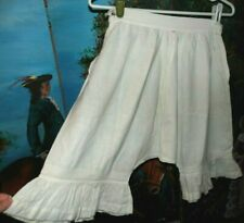 Antique Victorian Edwardian Adorable Romantic Flouncy Ruffle Dress Bloomers tlc