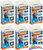 (6)2018/19 Panini Threads Basketball Factory Sealed Hanger Box-12 RC STATEMENTS