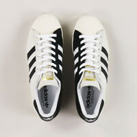 Adidas Skateboarding Superstar ADV Mens White Black Gold Sport UK Size 6-12