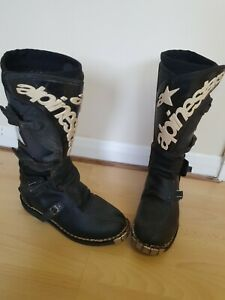 Alpinestars Motocross Boots, Size Euro 43, Uk 8