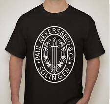 Paul Weyersberg  T shirt WW2 WWII German dagger sword knife edged weapons maker