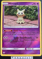 Carte Pokemon MIMIQUI 97/236 Rare REVERSE Soleil et Lune 12 SL12 FR NEUF