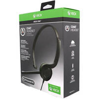Genuine PowerA Official Xbox One S Chat Headset Gaming Microphone Mute Control