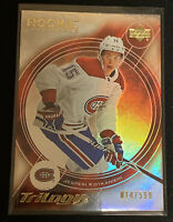 2018-19 Upper Deck Trilogy Jesperi Kotkaniemi 15th Anniversary Retro Rookie 399