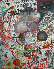 Avant Garde Abstract Large Oil Painting