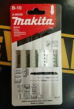 MAKITA A-85628 PACK OF 5 PZ JIG SAW BLADE #B-10 5-PACK