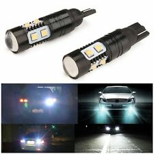 2x High Power 50W 912 921 T10 T15 6500K White CREE LED Backup Reverse Tail Light