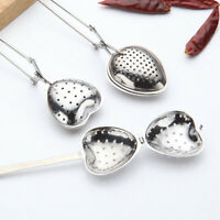 Stainless Steel Tea Leaf Infuser Herbal Spice Filter Diffuser Loose Strainer NEW